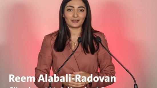 Reem Alabali-Radovan, Kandidatin für den Bundestagswahlkreis 21